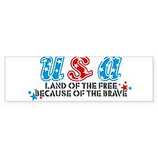 USA - Bumper Bumper Sticker