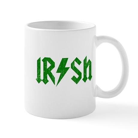 Irish Green Beer ACDC Mug