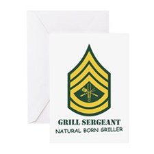 Grill Sgt. Greeting Cards (Pk of 10)