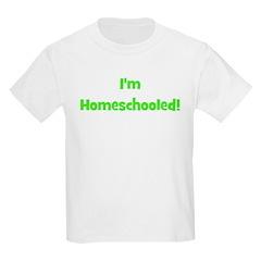 I'm Homeschooled - Multipled Kids T-Shirt