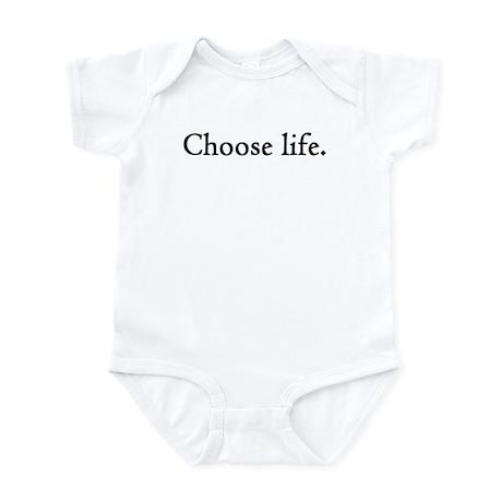 Choose Life, a Pro-Life Infant Bodysuit