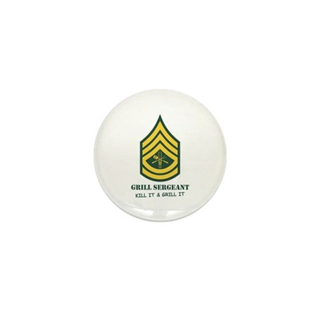 Grill Sgt. Mini Button (100 pack)