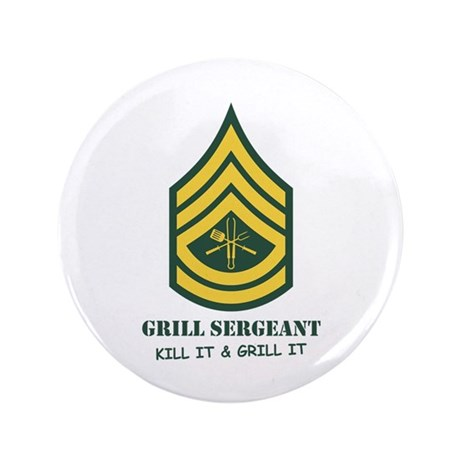 """Grill Sgt. 3.5"""" Button"""