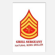 Grill Sgt. Postcards (Package of 8)