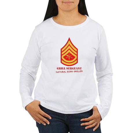 Grill Sgt. Women's Long Sleeve T-Shirt