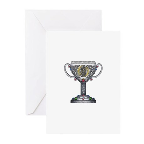 Celtic Chalice Greeting Cards (Pk of 10)
