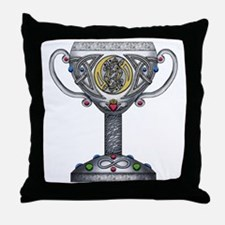 Celtic Chalice Throw Pillow