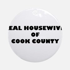 Real Housewives of Cook County Ornament (Round)
