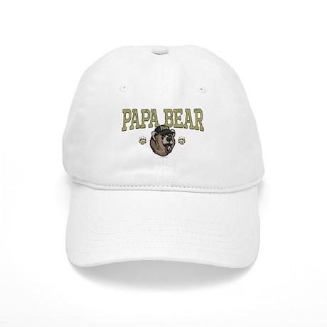 New Papa Bear Dad Cap
