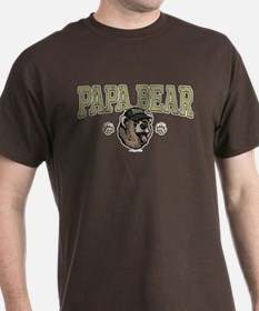 New Papa Bear Dad T-Shirt