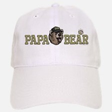 New Papa Bear Dad Baseball Baseball Cap