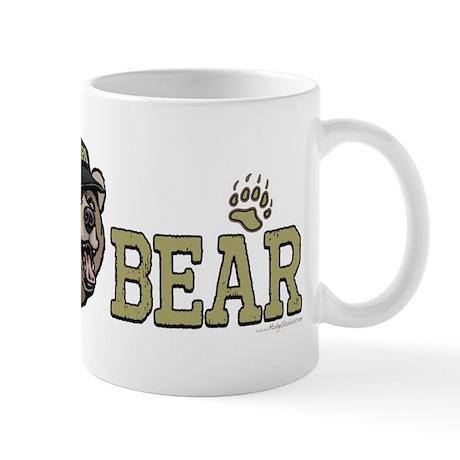 New Papa Bear Dad Mug
