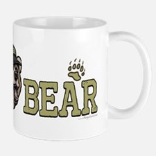 New Papa Bear Dad Small Small Mug