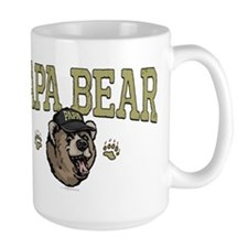 New Papa Bear Dad Mug