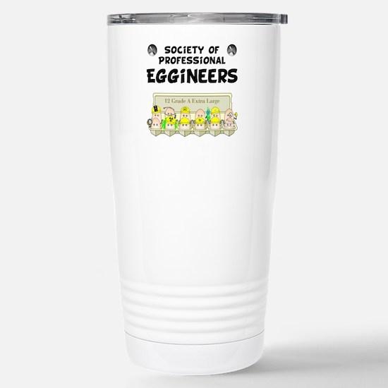 Eggineer Society Stainless Steel Travel Mug