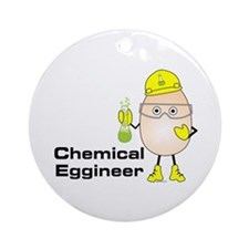 Chemical Eggineer Ornament (Round)