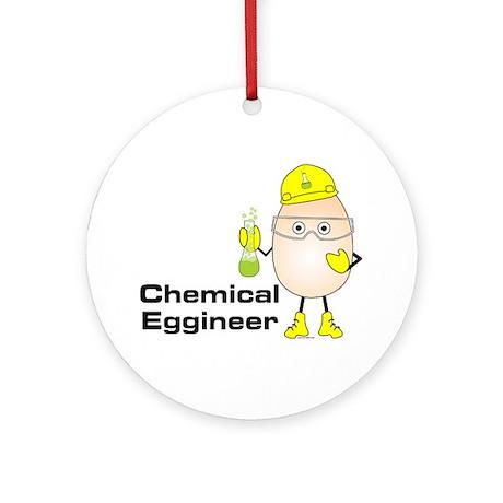 Chemical Eggineer Ornament (Round)