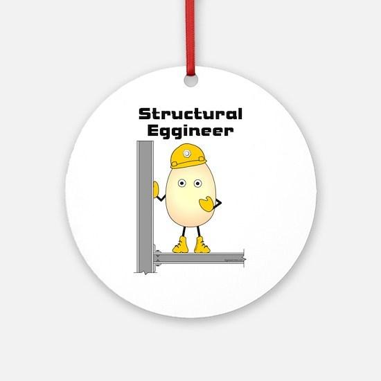 Structural Eggineer Ornament (Round)