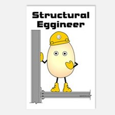 Structural Eggineer Postcards (Package of 8)