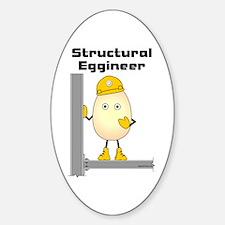 Structural Eggineer Sticker (Oval)