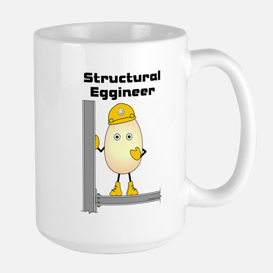 Structural Eggineer Large Mug