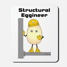 Structural Eggineer Mousepad