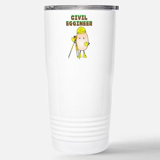 Civil Eggineer Stainless Steel Travel Mug