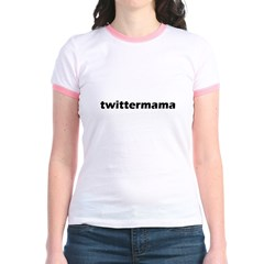 twittermama- black T