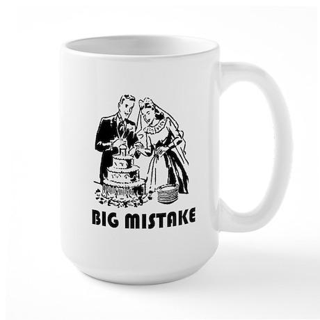Big Mistake Large Mug