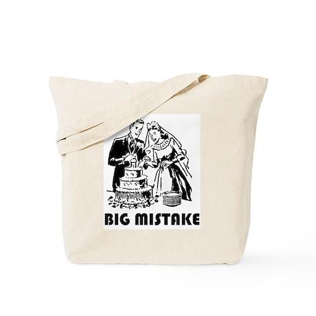 Big Mistake Tote Bag