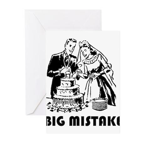Big Mistake Greeting Cards (Pk of 10)