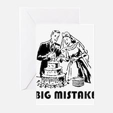 Big Mistake Greeting Cards (Pk of 20)