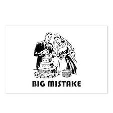 Big Mistake Postcards (Package of 8)