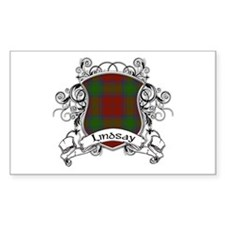 Lindsay Tartan Shield Decal