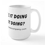 What's it doing Large Mug