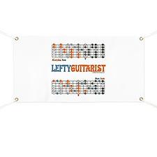 Left-handed Cheat Sheet Banner