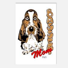 Basset Mom Postcards (Package of 8)