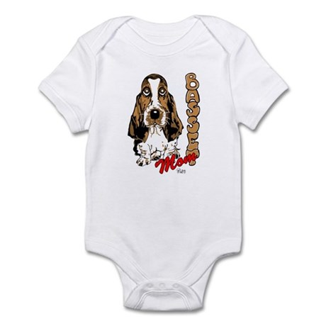 Basset Mom Infant Bodysuit