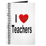 I Love Teachers Journal