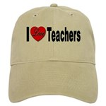 I Love Teachers Cap