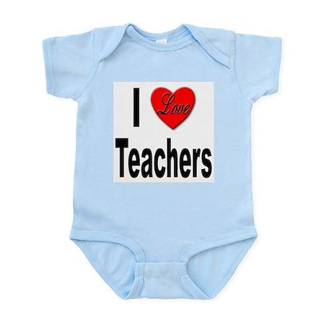 I Love Teachers Infant Creeper