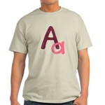 A is for Adorable Light T-Shirt