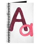 A is for Adorable Journal