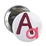 "A is for Adorable 2.25"" Button"