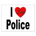 I Love Police Small Poster