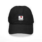 I Love Police Black Cap