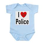 I Love Police Infant Creeper