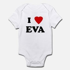 I Love EVA Infant Bodysuit