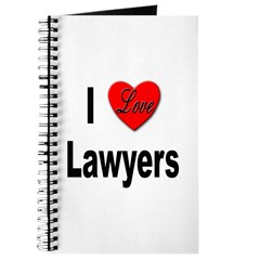 I Love Lawyers Journal