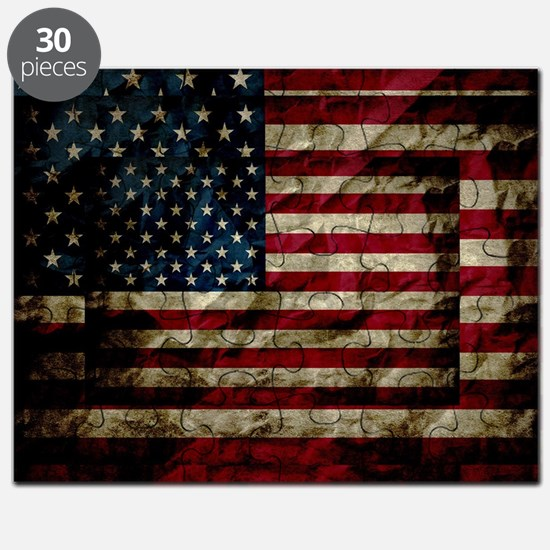 Funny Stars and stripes Puzzle